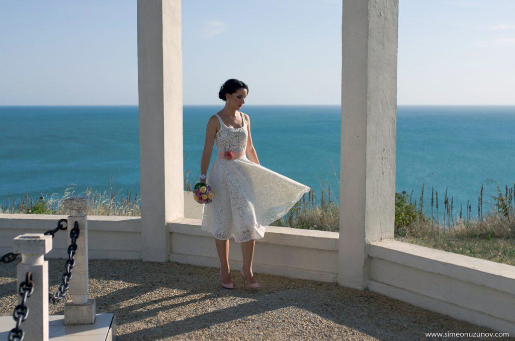 сватбен фотограф на морето