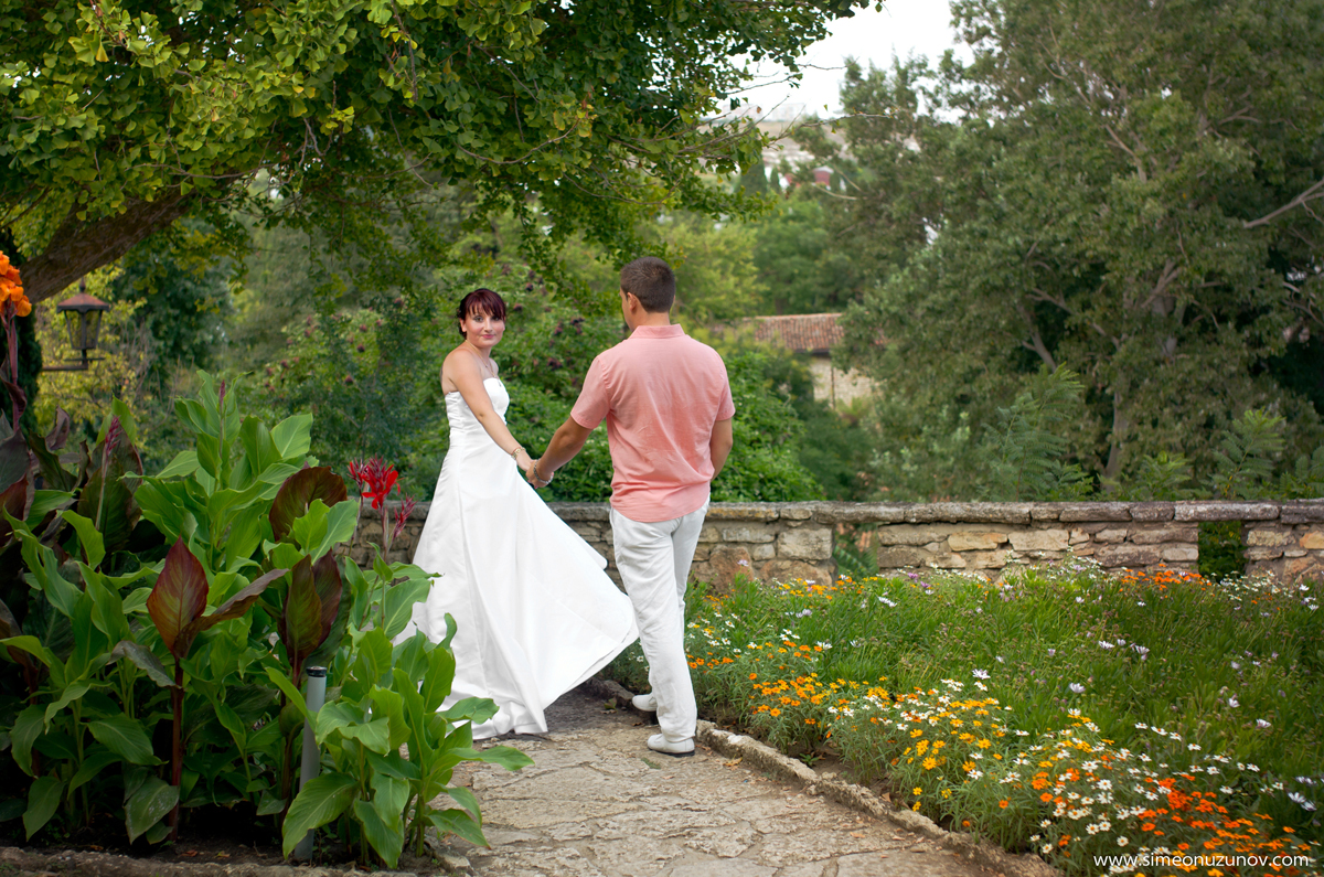 добър сватбен фотограф двореца балчик