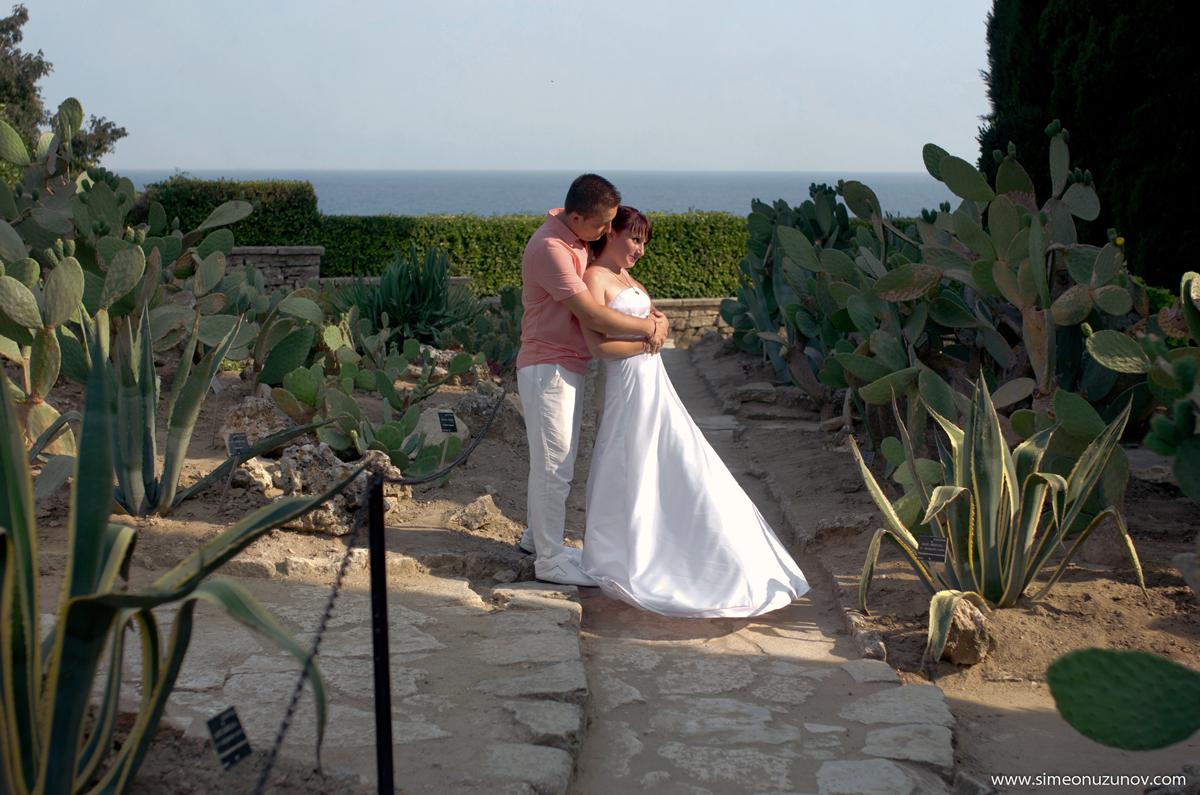 сватбена фотосесия двореца балчик