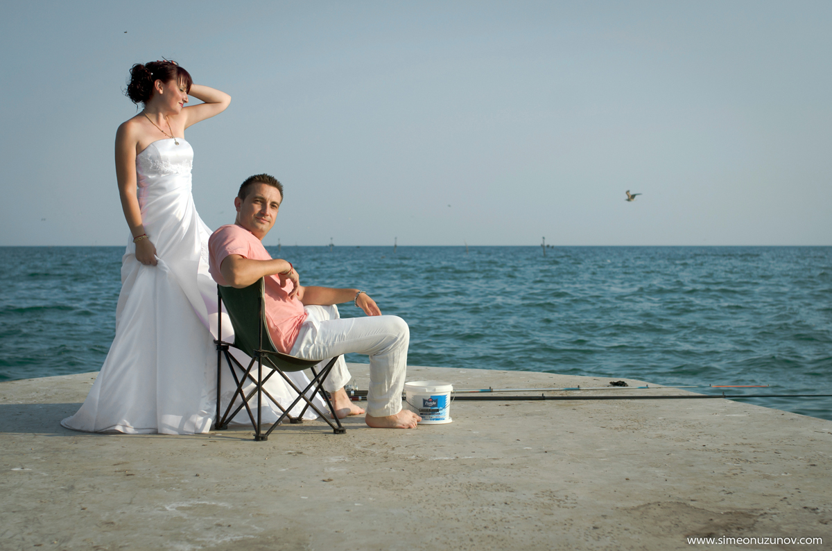 сватбени снимки двореца балчик