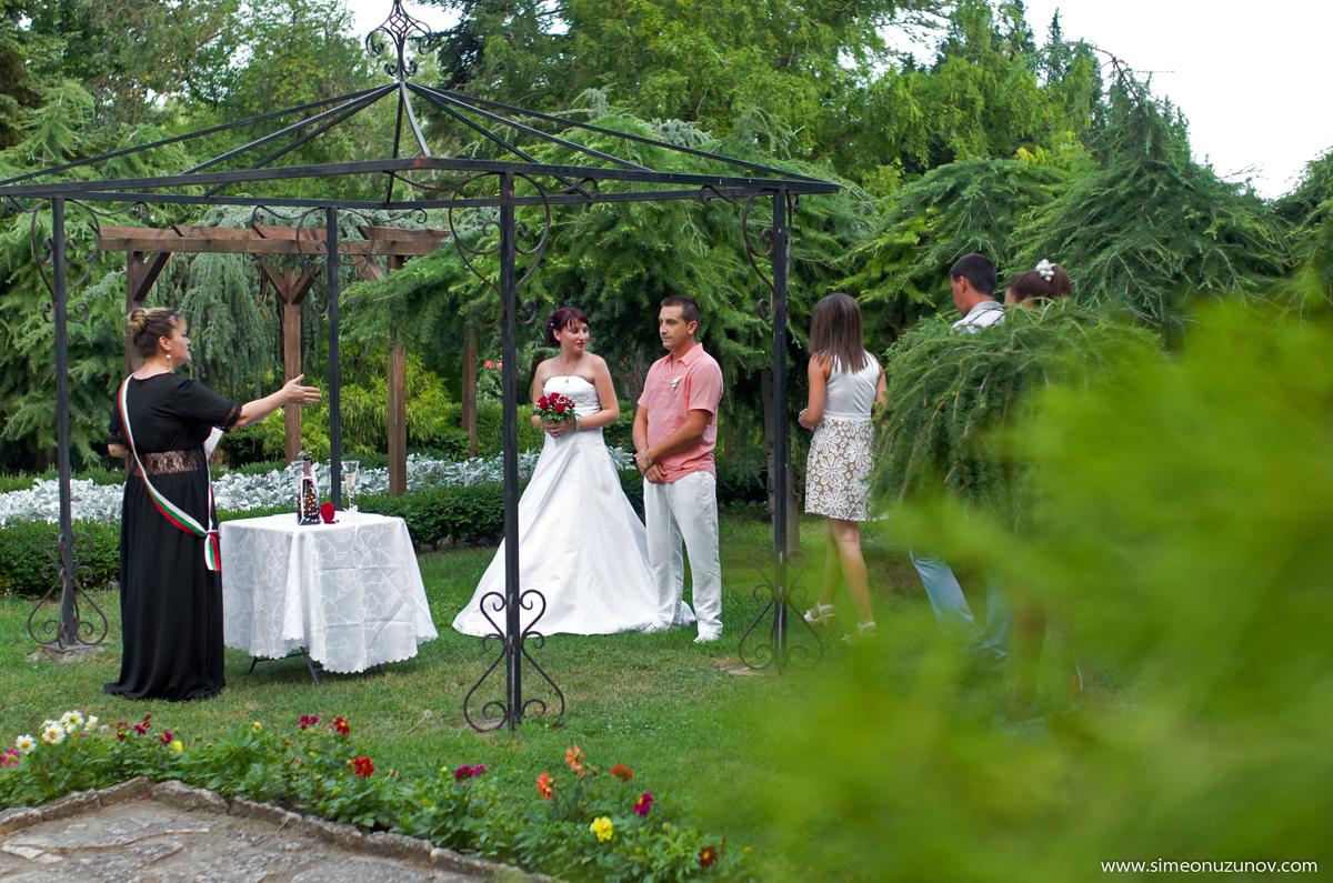 сватбени фотосесии двореца балчик