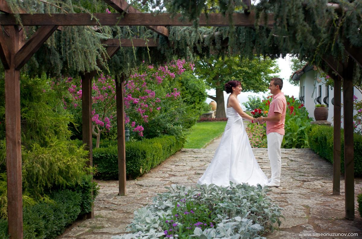 сватбена фотография двореца балчик
