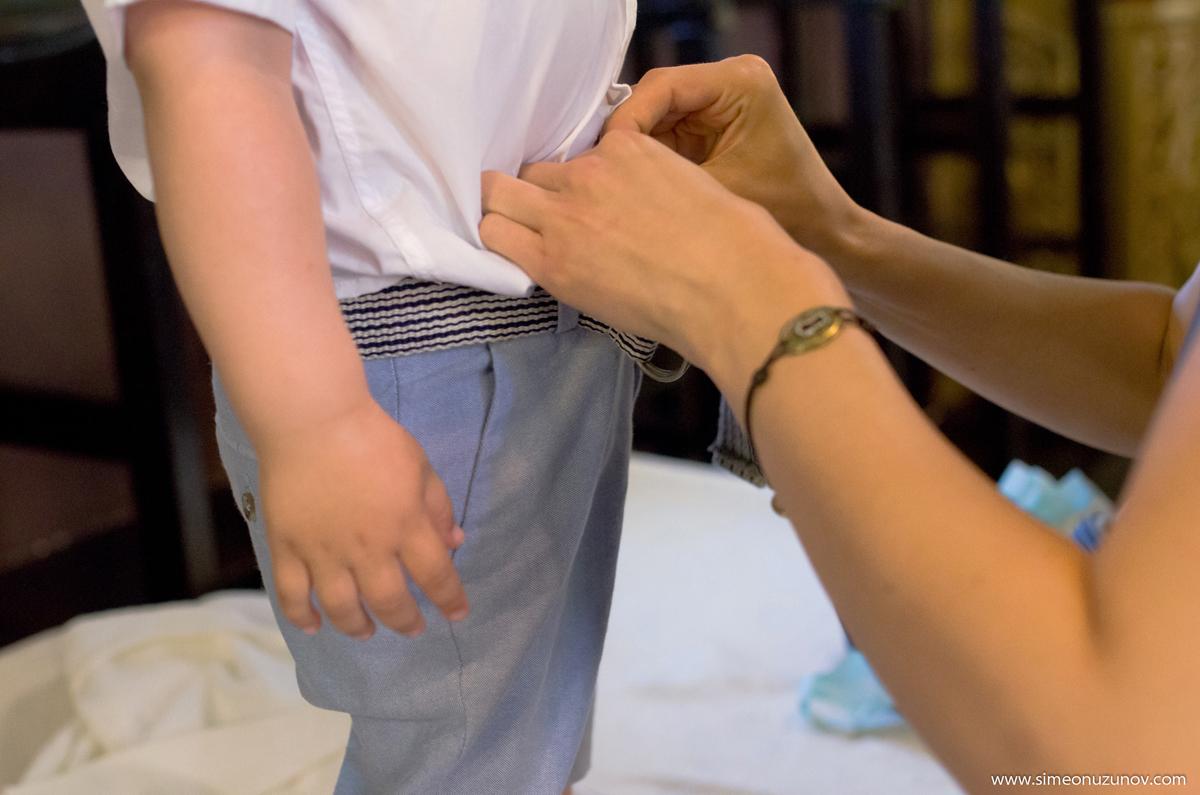 детско кръщене варна