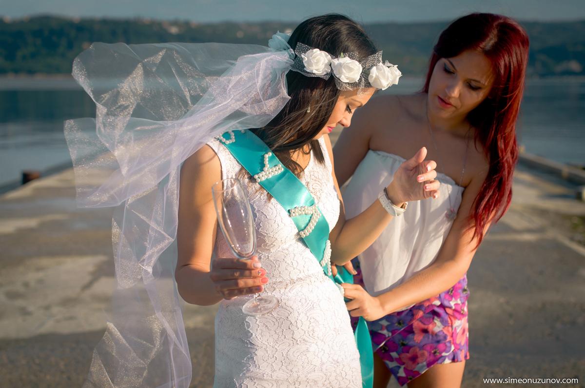 сватбен фотгораф на морето варна