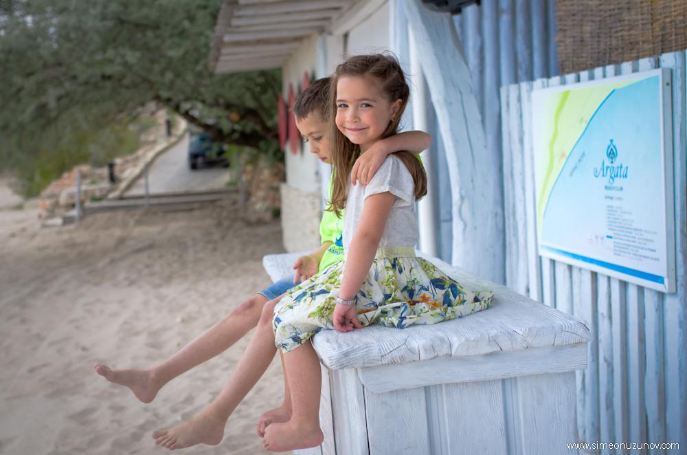 детски фотосесии на морето