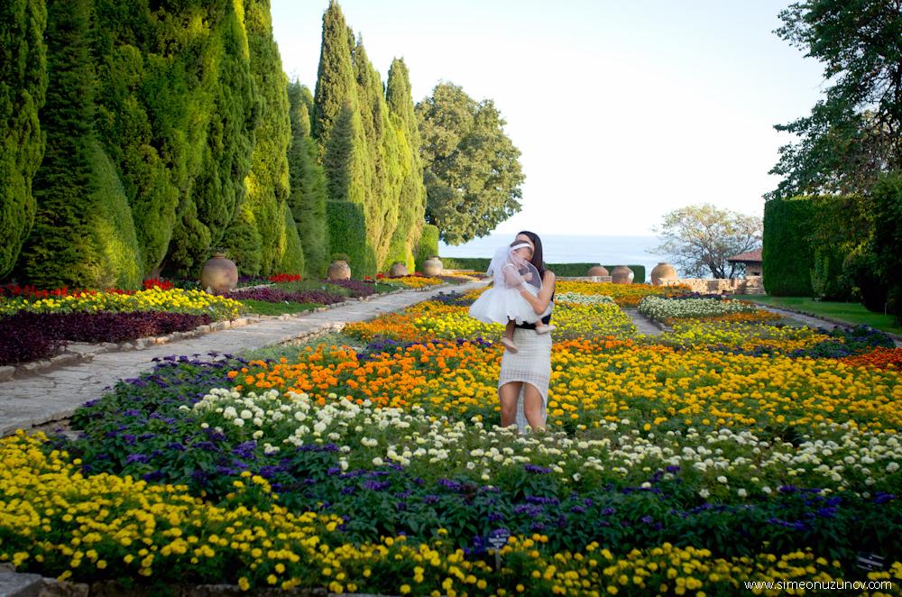 фотосесии в ботаническата градина балчик