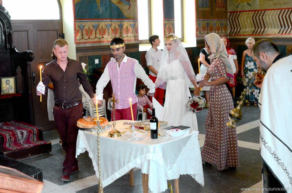 фотозаснемане на сватба в църквата варна
