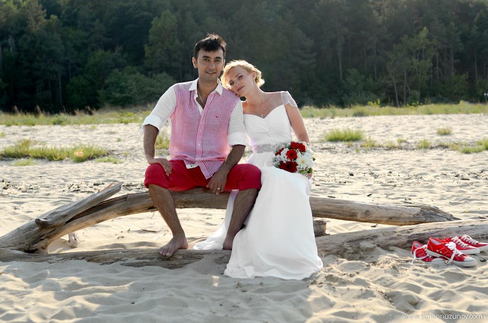 фотосесия на сватба варна