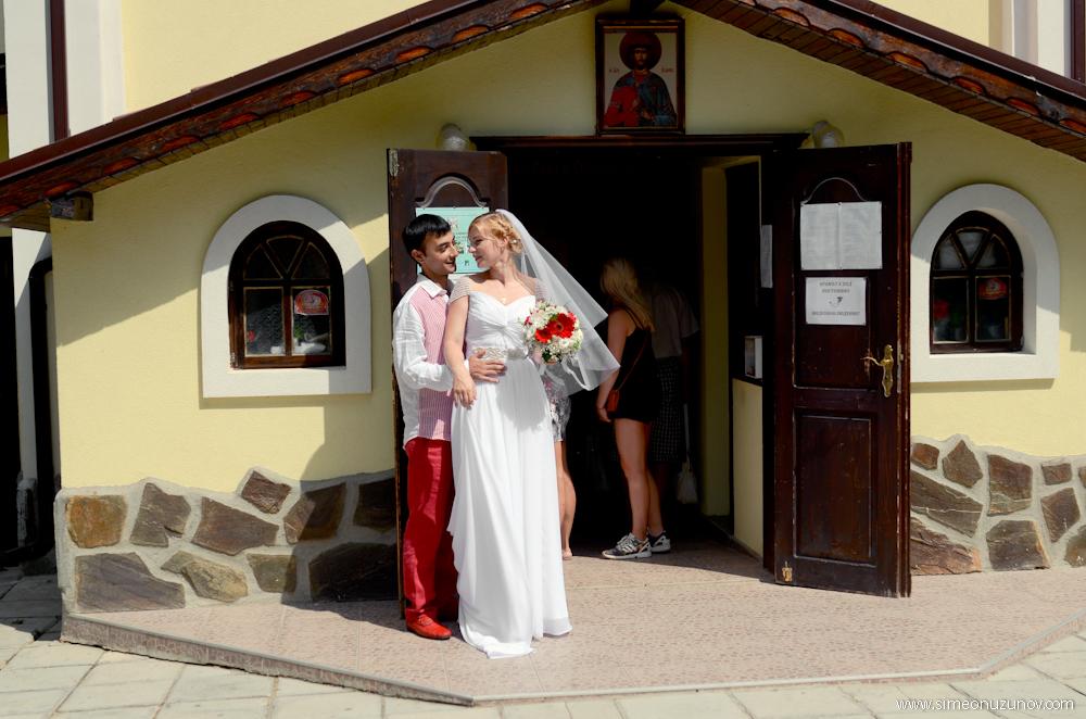 фотосесия на сватбата варна