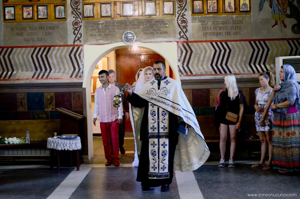 сватбен ритуал в църква фотозаснемане варна