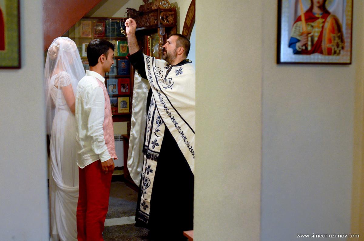 сватбена фотосесия венчавка варна