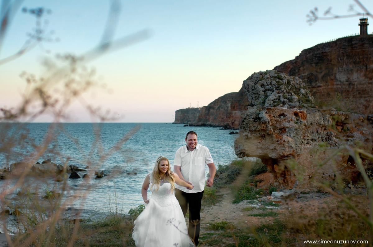 сватбена фотография залив болата