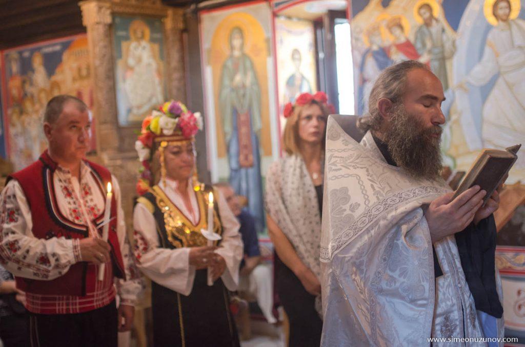 заснемане на църковна сватба варна