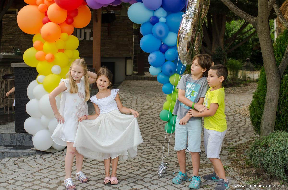 фотограф детски рожден ден варна