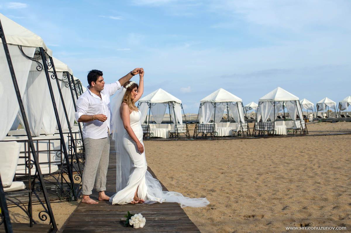различен креативен сватбен фотограф варна