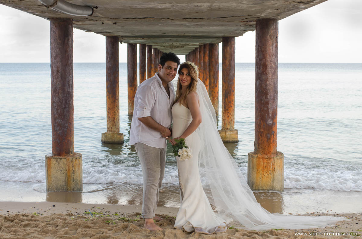 сватбени фотографи на морето варна