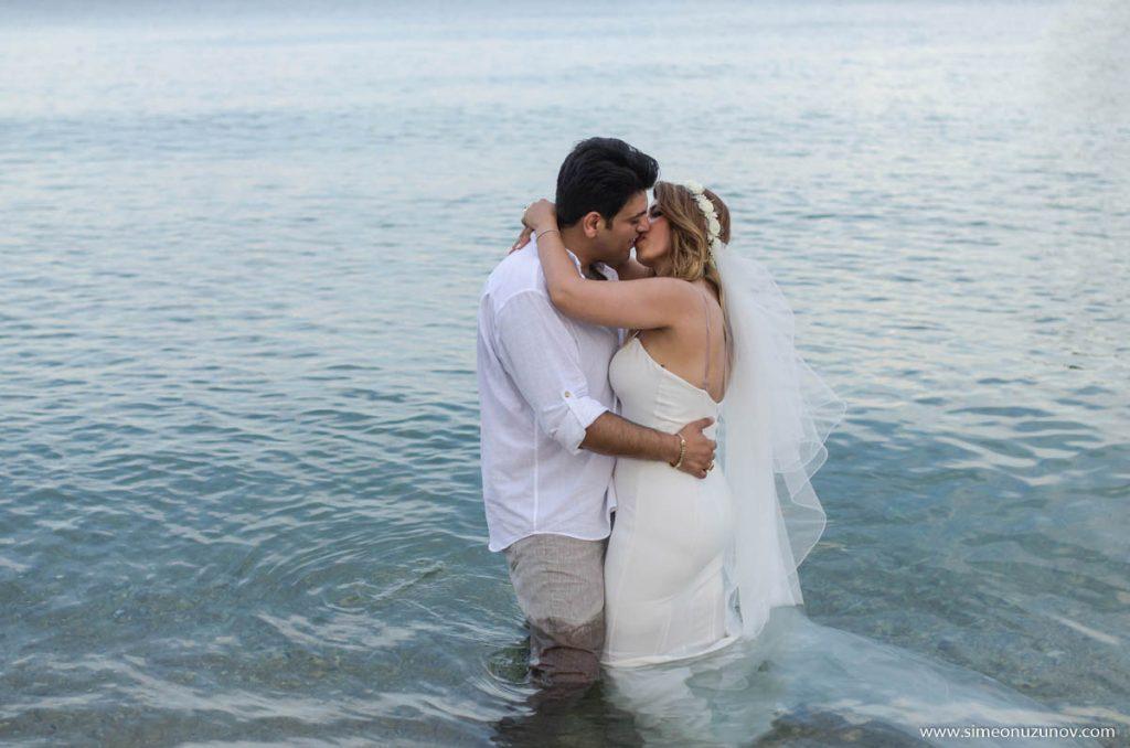 сватбен фотограф на морето варна