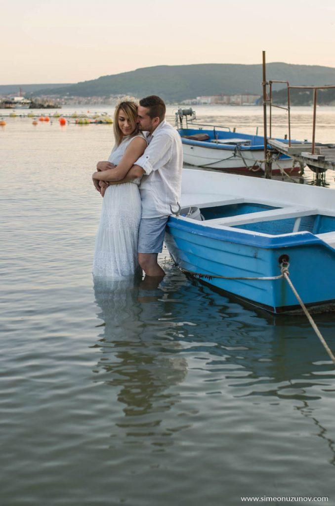 фотосесия преди сватбата