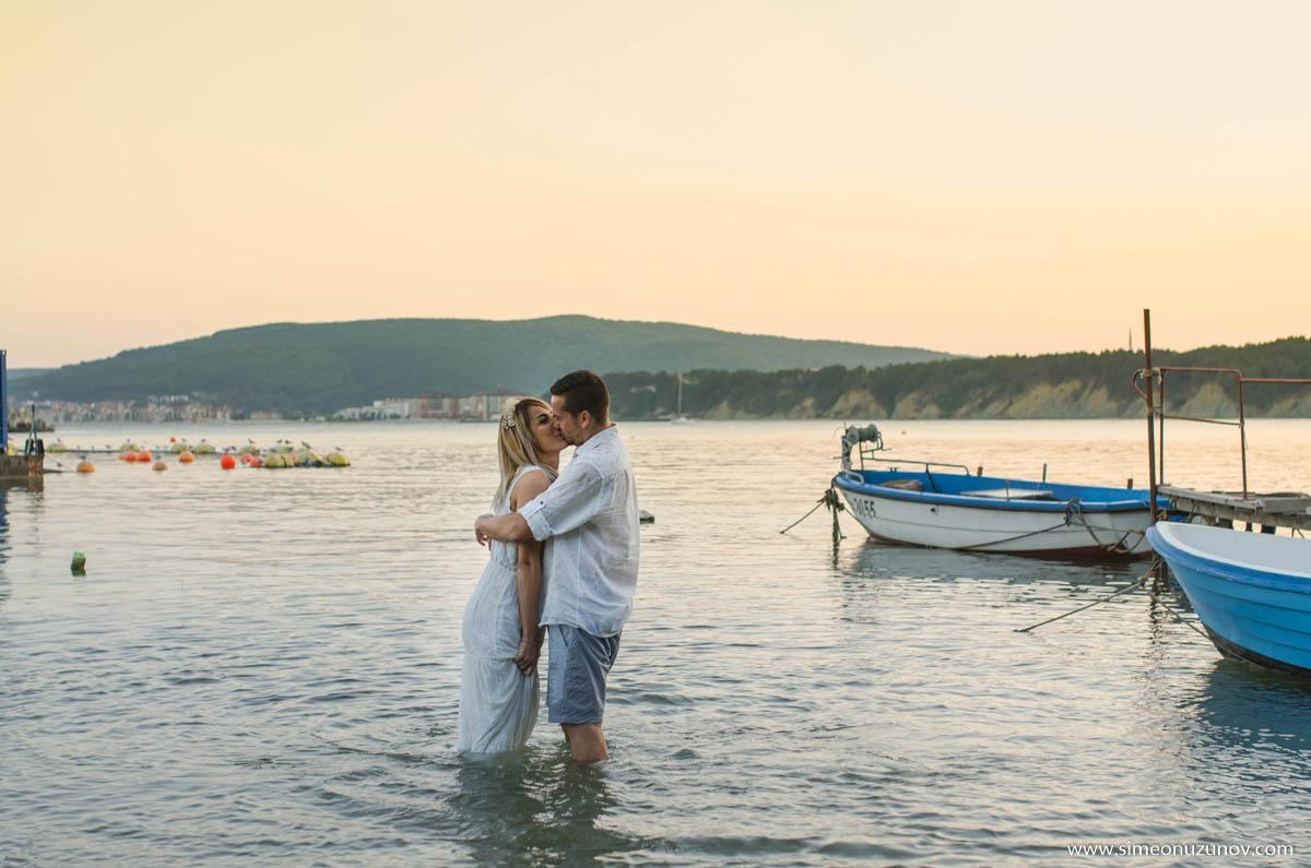 фотосесии на влюбени двойки варна