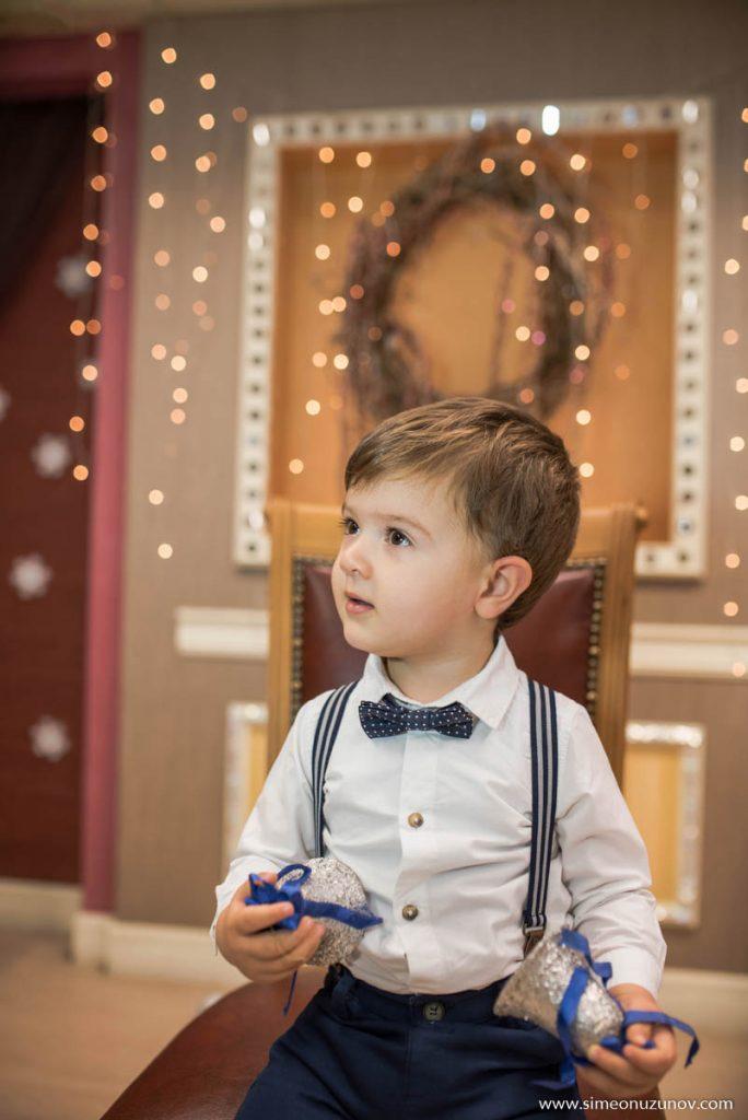 детска фотосесия за коледа варна