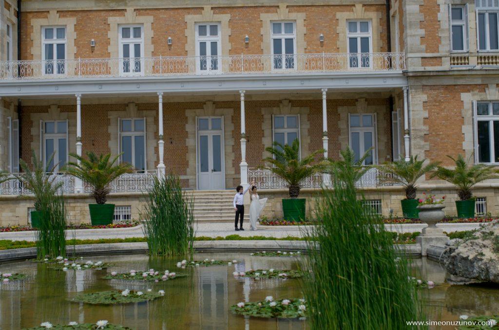 сватбени фотосесии в двореца евксиноград