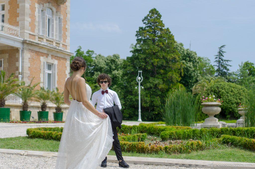 сватбена фотография дворец евксиноград варна