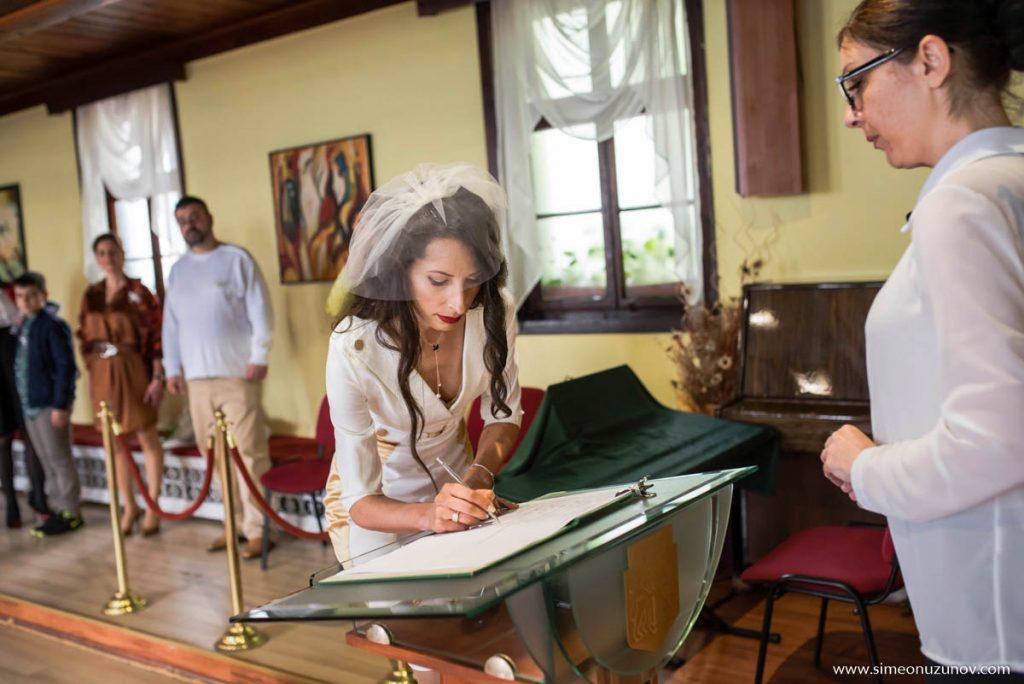 фотозаснемане на сватба