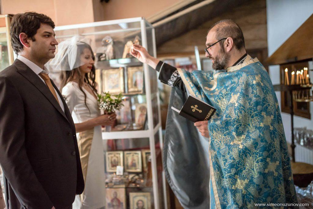 заснемане на църковен брак варна
