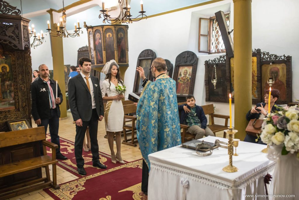 фотосесия на венчавка варна