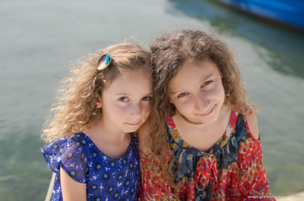 детски фотограф на морето