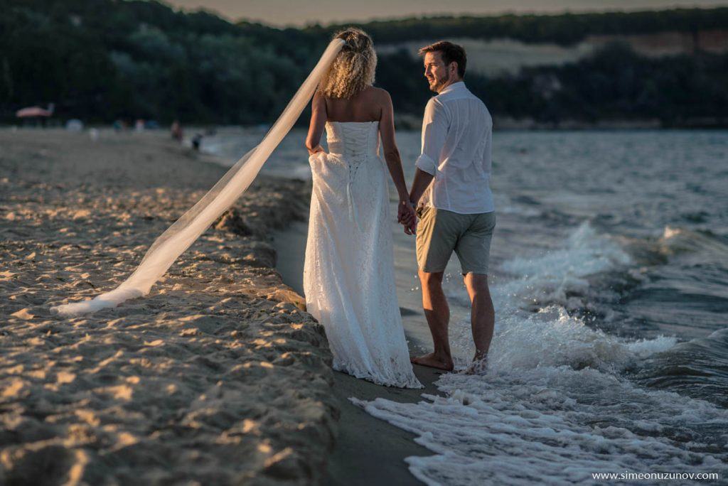 фотосесия след сватбата варна