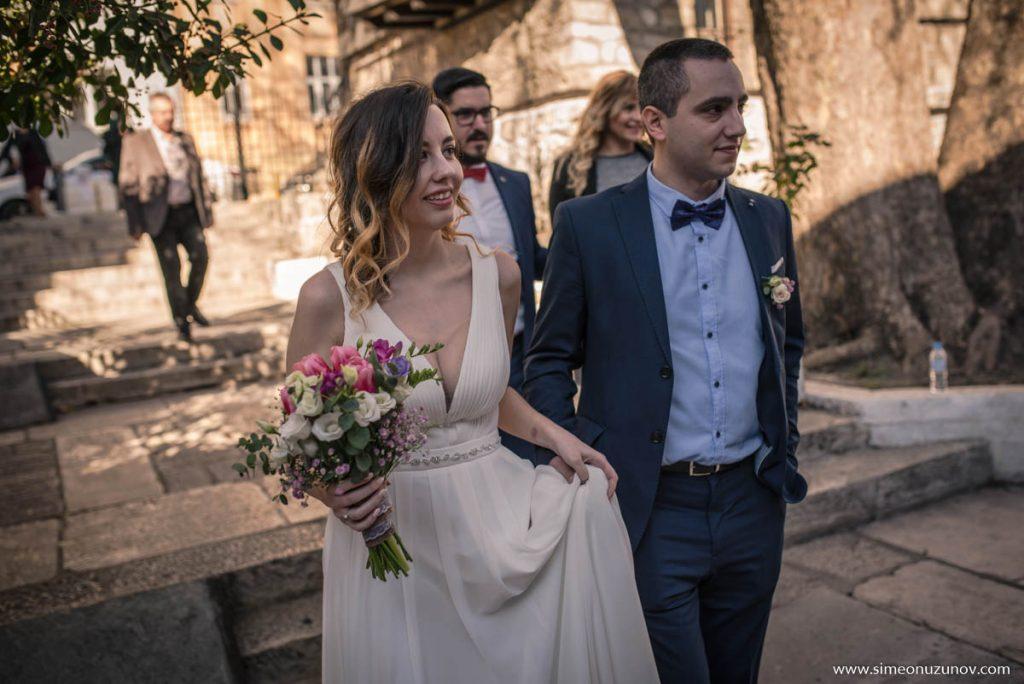 заснемане на сватба варна