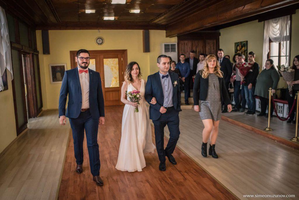 заснемане на граждански брак варна