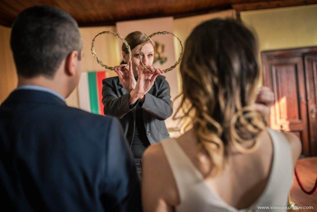 заснемане на бракосъчетание варна