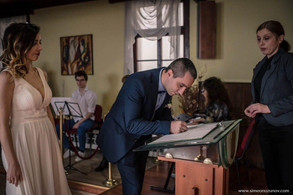 заснемане на сватбен ден варна