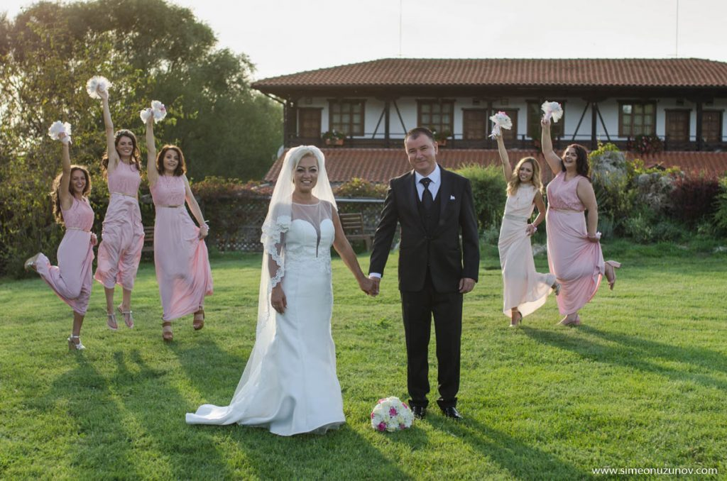 различни сватбени снимки