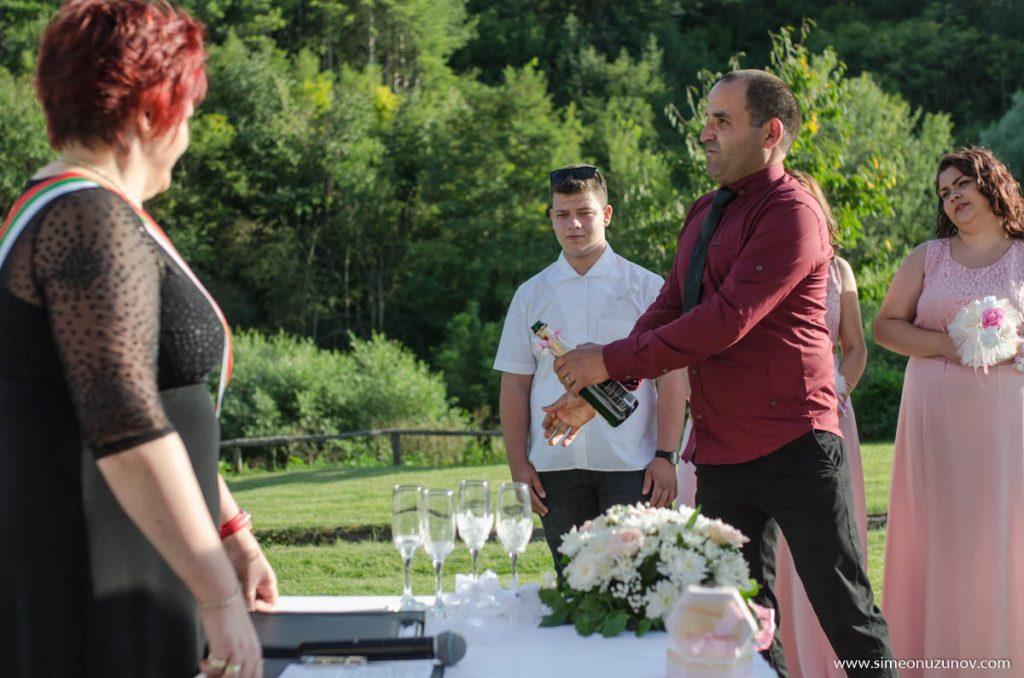 сватба ксомплекс барите изнесен ритуал