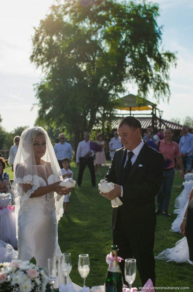 сватбена фотография варна изнесен ритуал