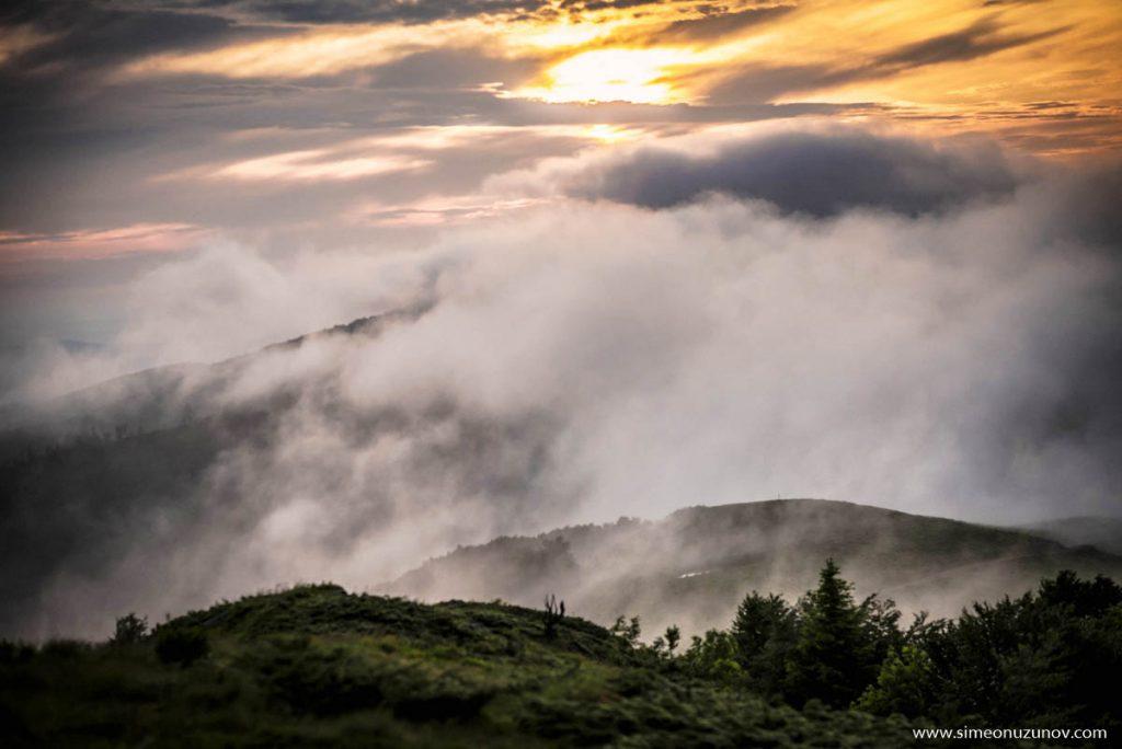 пейзажи от планината