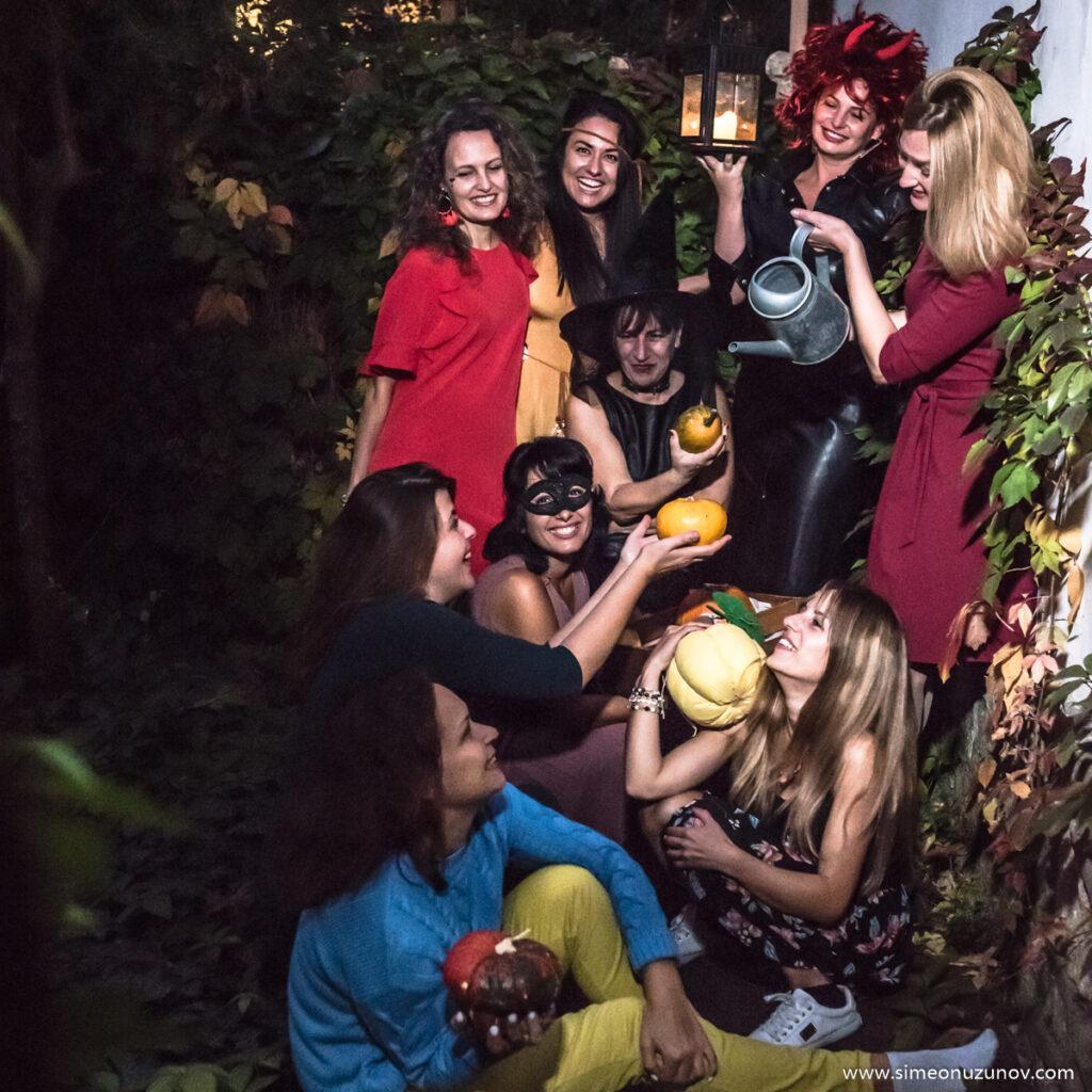 хелоуин фотосесия варна