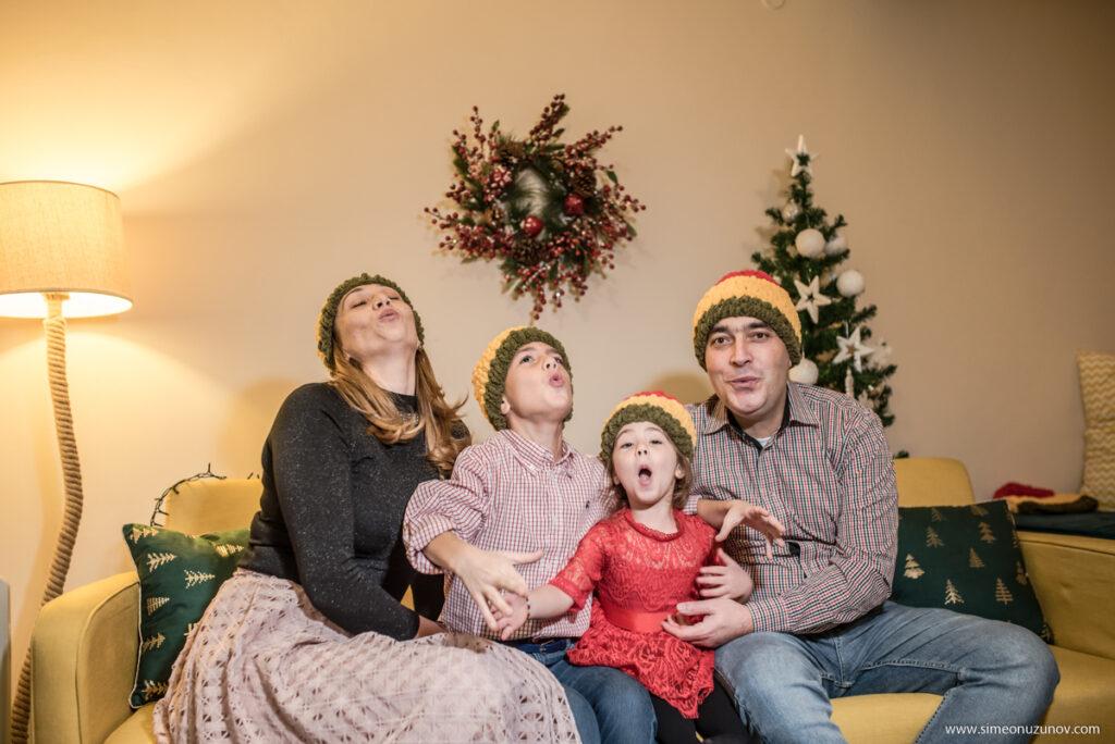 семейни фотосесии за коледа варна