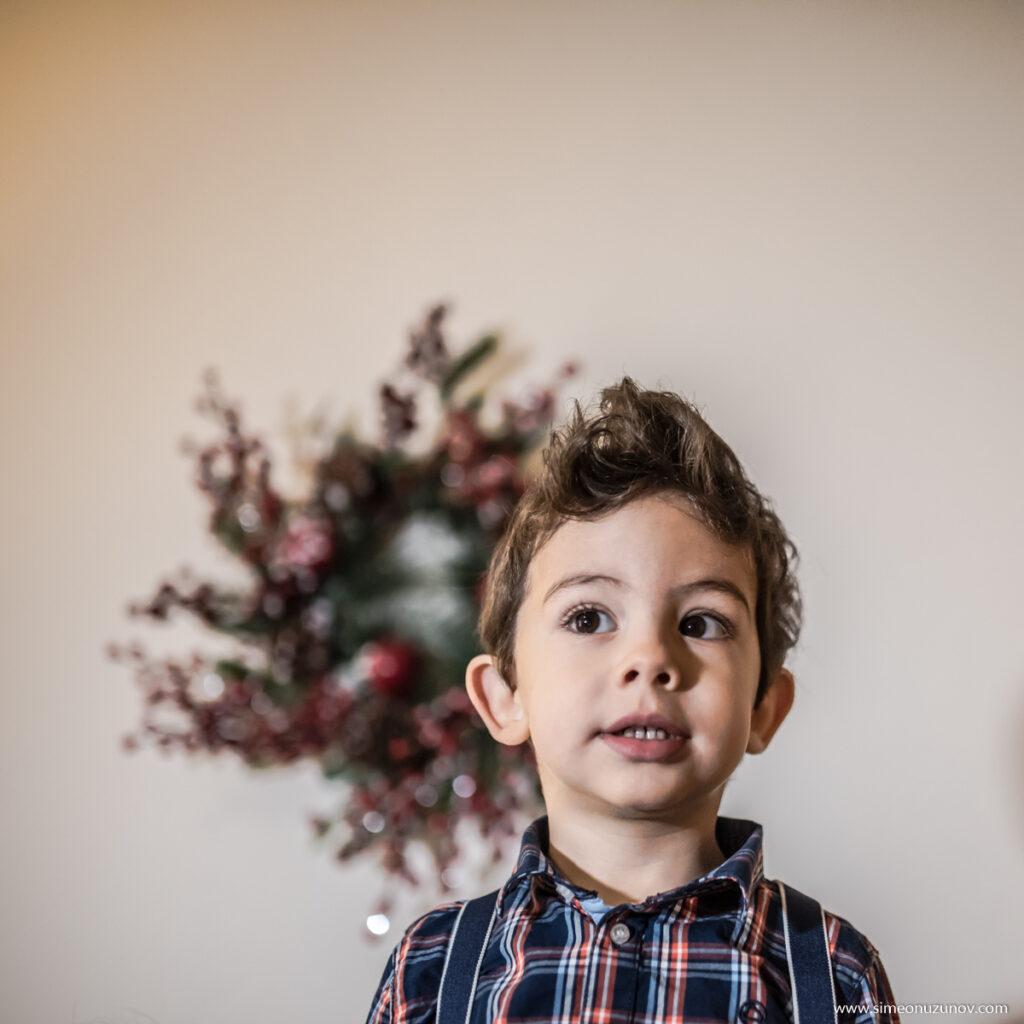 детски коледни фотосесии варна