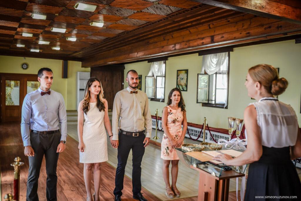 заснемане на младоженци варна