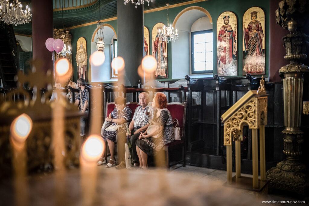 снимки в църква варна