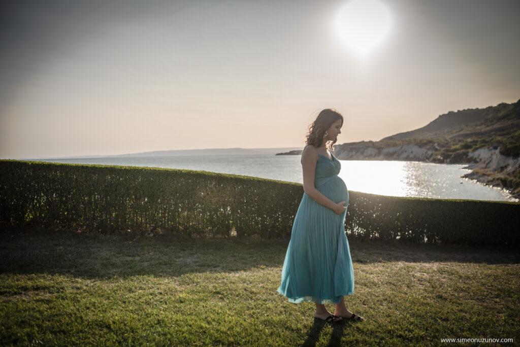 фотосесии на бременни варна